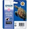 Epson T1576, Ink Cartridge Light Magenta, Stylus Photo R3000- Original
