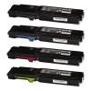 Xerox 106R02245, 106R02246, 106R02247, 106R02248, Toner Cartridge Multipack, Phaser 6600, WorkCentre 6605- Original