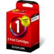 Lexmark 80D2955 No.1 Ink Cartridge - Tri-Colour Multipack Genuine