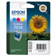 Epson T018 Ink Cartridge - Tri-Colour Genuine