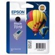 Epson T019 Ink Cartridge - Black Genuine