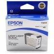 Epson Stylus Pro 3800, 3880 Ink Cartridge - Light Light Black Genuine (T5809)