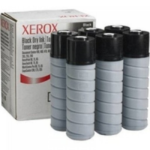 Xerox 006R90321 Toner Cartridge, WorkCentre Pro 65, 75, 90 - 6 x Black Genuine
