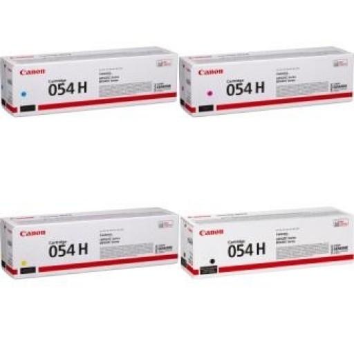 Canon 054H, Toner Cartridge HC Multipack, i-SENSYS LBP621, LBP623, MF641, MF643- Original