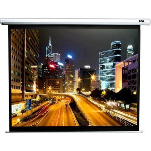 Elite ELECTRIC125XH-WHITE Electric Spectrum Projection Screen