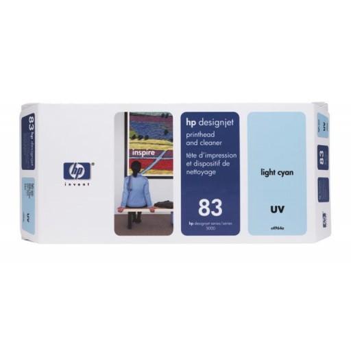 HP C4964A No.83 Light Cyan Printhead Genuine