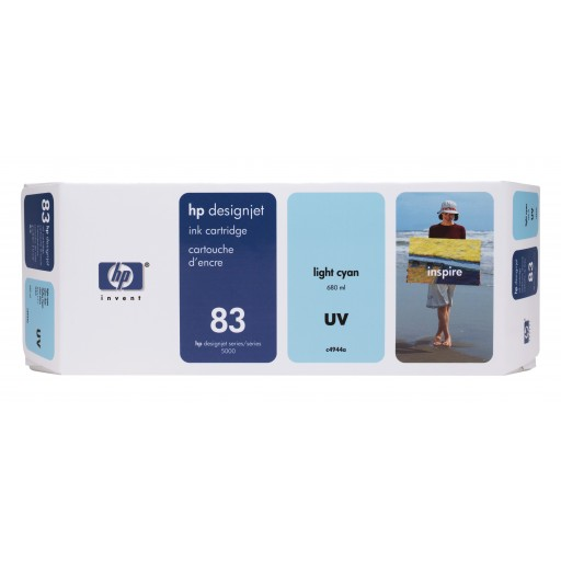 HP C4944A No.83 Ink Cartridge - Light Cyan Genuine