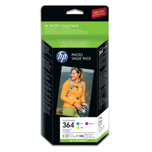 HP CG927EE PHOTO VALUE PACK 364 SERIES