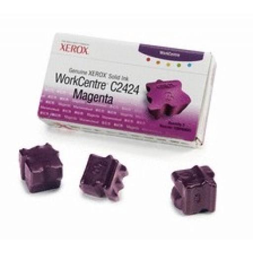 Xerox 108R00661, Solid Ink Stick - 3 x Magenta, WorkCentre C2424- Original