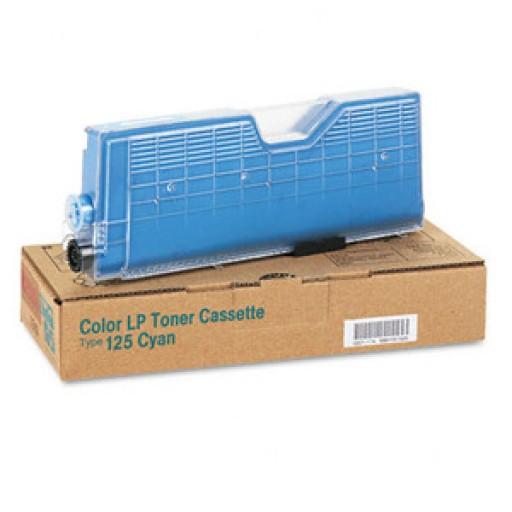 Ricoh 400839 Toner Cartridge Cyan, Type 125, CL2000, CL3000, CL3100 - Genuine