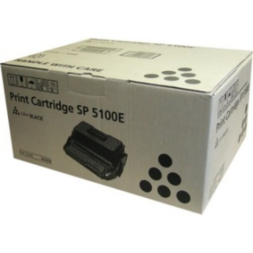 Ricoh 407164, Toner Cartridge Black, SP5100- Original