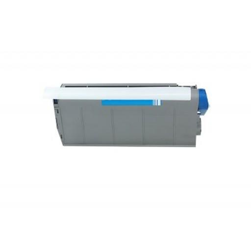 OKI 41963007 Toner Cartridge, C7100, C7300, C7500 - Cyan Compatible