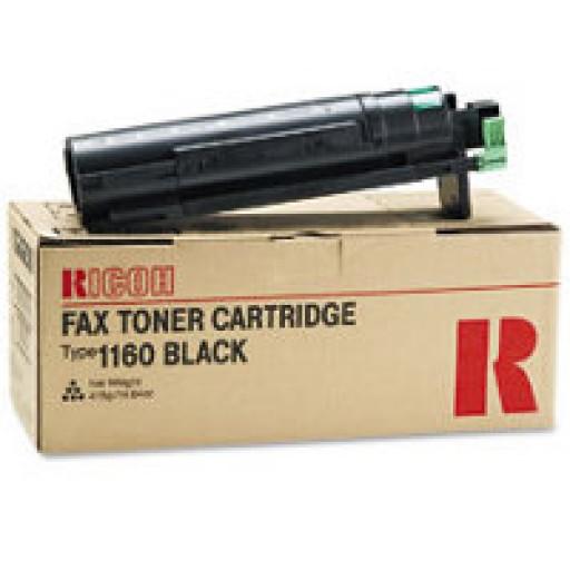 Ricoh 430347 Toner Cartridge Black, Type 1160, 3310, 3320, 4410, 4420, 4430 - Genuine