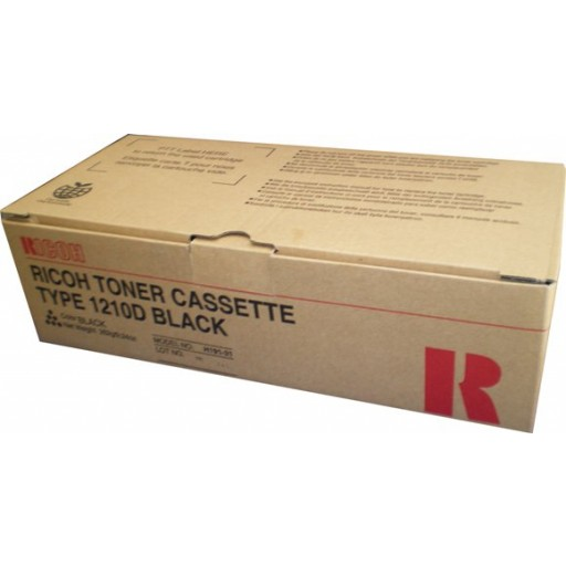 Ricoh 430438 Toner Cartridge Black, Type 1210D, FX10 - Genuine