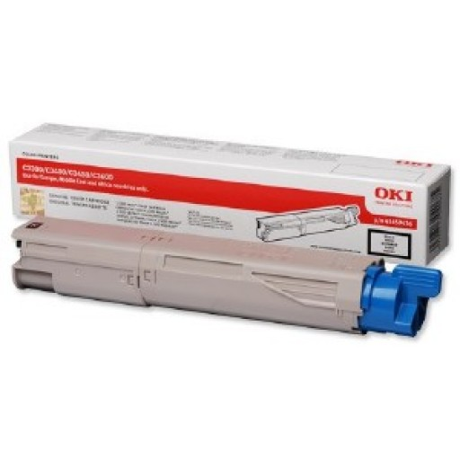 Oki 43459433 Toner Cartridge Yellow, C3300, C3400, C3450, C3600- Genuine