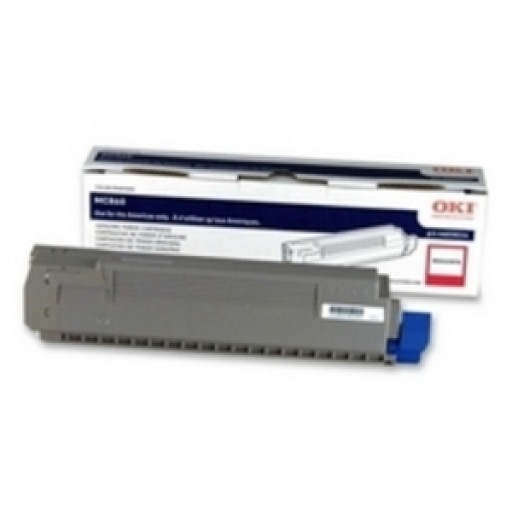 Oki 44059210 Toner Cartridge Magenta MC860- Genuine