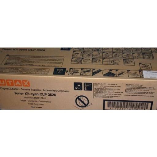 UTAX CLP 3526 Toner Cartridge - Cyan Genuine (4452610011)