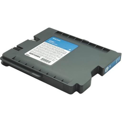 Ricoh 405537 Gel Cartridge Cyan, GX5050, GX7000 - Genuine