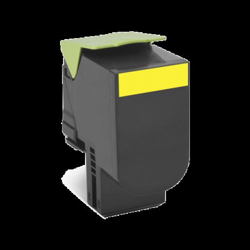 Lexmark 70C0H40, 700H4 Toner Cartridge, CS310, CS410, CS510 - HC Yellow Genuine