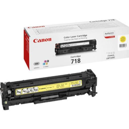 Canon 2659B002AA, Toner Cartridge Yellow, LBP7200, 7660, MF8330, 8340- Original