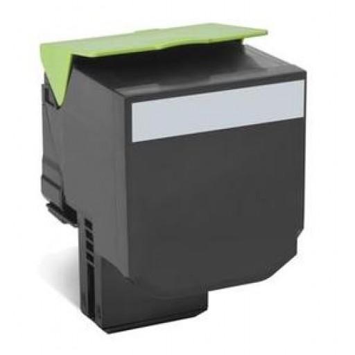 Lexmark 802XK Extra HC Return Program Toner Cartridge - Black Genuine, 80C2XK0