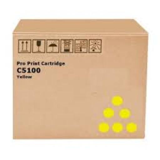 Ricoh 828226, Toner Cartridge Yellow, Pro C5100S, C5110S- Original