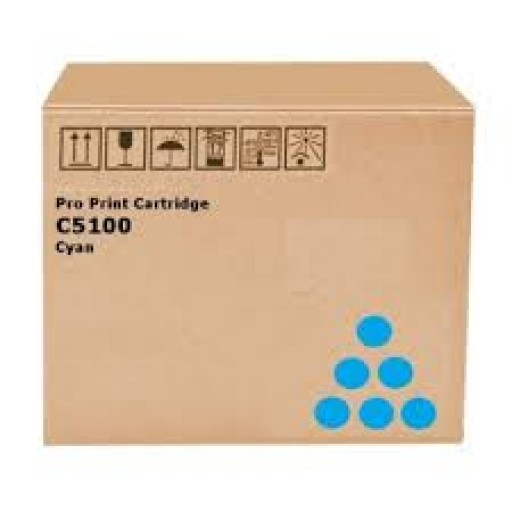 Ricoh 828228, Toner Cartridge Cyan, Pro C5100S, C5110S- Original