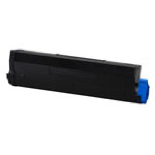 Oki 43502002 Toner Cartridge HC Black, B4600- Genuine