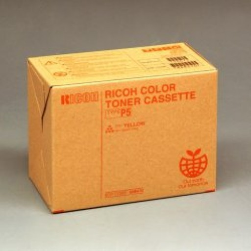 Ricoh 885514 Toner Cartridge Yellow, Type P5, 2228C, 2232C, 2238C -  Genuine
