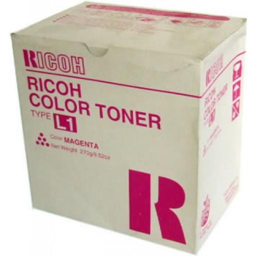 Ricoh 887902 Toner Cartridge Magenta, Type L1, AC6010, AC6110, AC6513 - Genuine