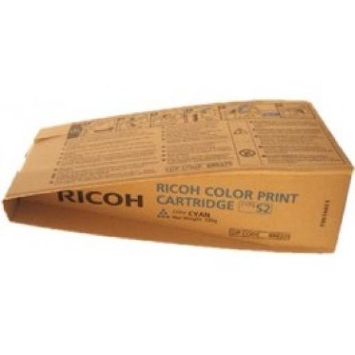 Ricoh 888375, Toner Cartridge Cyan, Type S2, 3260C, 5560C- Original