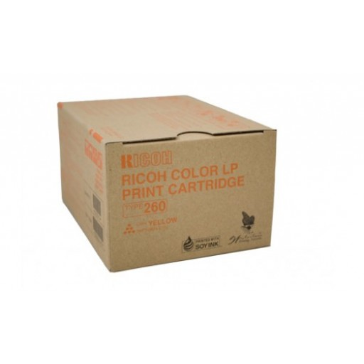 Ricoh 888447, Toner Cartridge Yellow, Type 260, CL7200, CL7300- Original