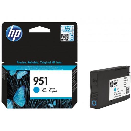 HP CN050AE, Ink Cartridge Cyan, Officejet Pro 8100, 8600, 8610, 8615-  Original