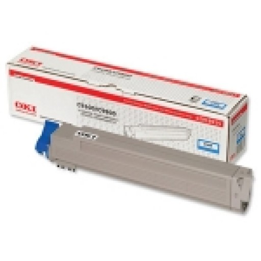 Oki 42918915, Toner Cartridge Cyan, C9600, C9650, C9800, C9850- Original