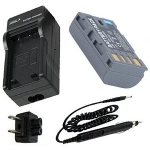 Battery + Charger for JVC Everio GZ-MS120