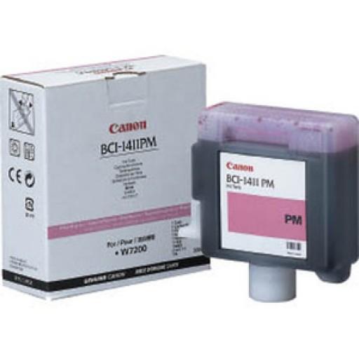 Canon W7200, W8200 BCI1411PM Ink Cartridge - Photo Magenta Genuine (7579A001AA)