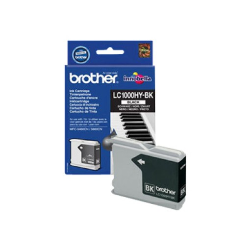 Brother LC-1000HY-BK, Toner Cartridge HC Black, MFC-5460CN, 5860CN- Original
