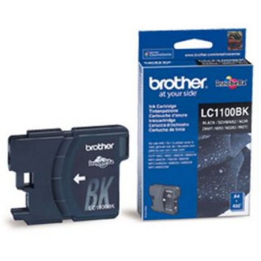 Brother LC-1100BK, Toner Cartridge Black, MFC6490CW, 6890CDW, DCP585CW, 6690CW- Original