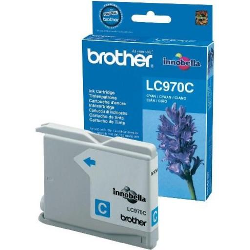 Brother LC-970C, Toner Cartridge Cyan, DCP-135C, 150C, MFC-235C, 260C- Original