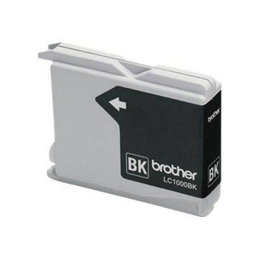 Brother LC1000BKBP2, LC1000 Ink Cartridge Twin Pack, DCP 130, 330, 350, 357, 540, 560 770 - Black Genuine