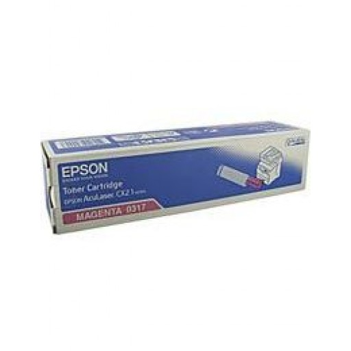 Epson C13S050317 Toner Cartridge - Magenta Genuine