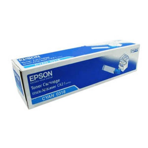 Epson C13S050318 Toner Cartridge - Cyan Genuine