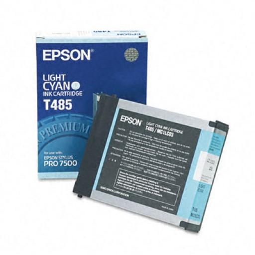 Epson T485 Ink Cartridge - Light Cyan Genuine