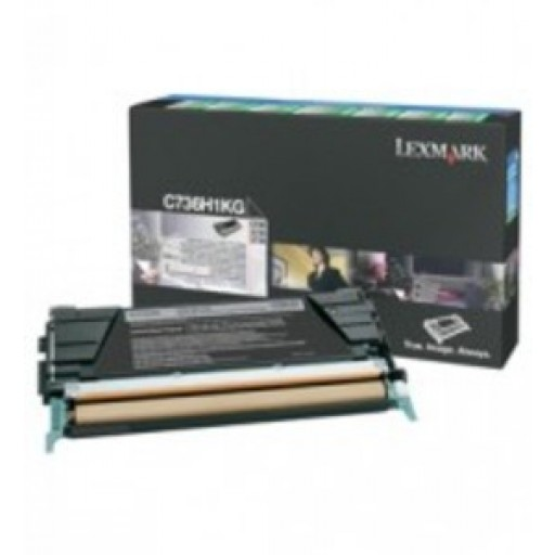 c736h1kg - Exclusive Deals on the C736H1KG Lexmark C736N High Yield Black Toner Cartridge