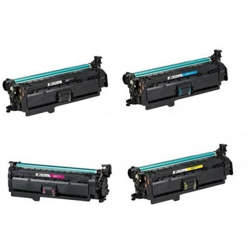 Canon 723 Toner Cartridge Value Pack, LBP7750CDN - Compatible