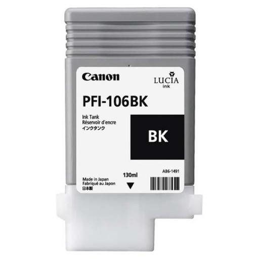 Canon PFI-106BK Ink Tank - Black, 6621B001