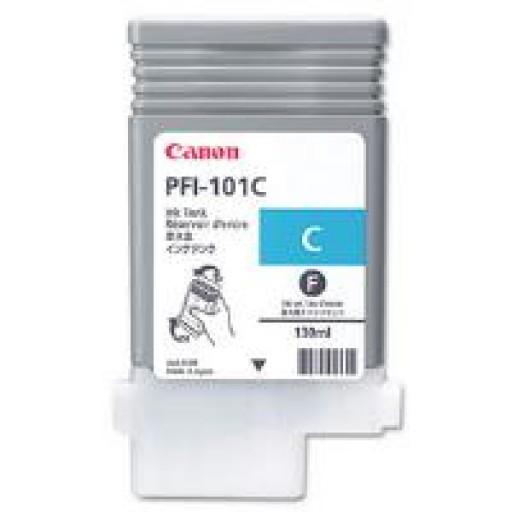 Canon 0884B001AA, PFI-101C Ink Cartridge, iPF6100, iPF6200 - Cyan Genuine