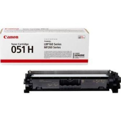 Canon 2169C002, 051H, Toner Cartridge HC Black, i-SENSYS LBP162, MF267, MF269- Original