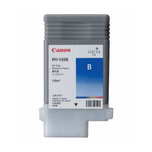 Canon 3008B005AA, PFI-105B Ink Cartridge, iPF6300, iPF6350 - Blue Genuine