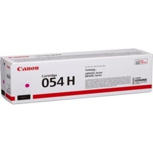Canon 3026C002, 054H, Toner Cartridge HC Magenta, i-SENSYS LBP621, LBP623, MF641, MF643- Original
